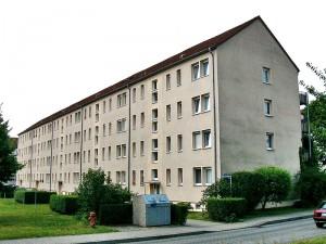 Wohnblock mit 42 WE in Torgau – Referenzobjekt der Energieberatung Torgau