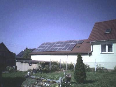 Photovoltaik-Anlage in Benndorf – Referenzobjekt der Energieberatung Torgau